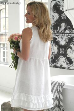 BYPIAS Linen Dress JOANNA /  @bypiaslifestyle www.bypias.com