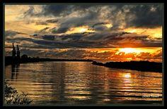 Greymouth with the sun shining through.  ^James Print