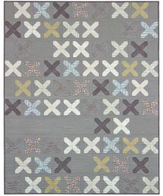 = free Pattern = just kisses by Janice Zeller Ryan for Robert Kaufman Fabric Company xxx
