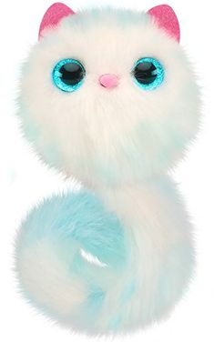 wm Exclusive Sherbert Excellent In Cushion Effect Pomsies Pet Interactive Plush Kitty Cat