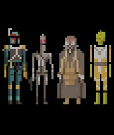 8 bit bounty hunters