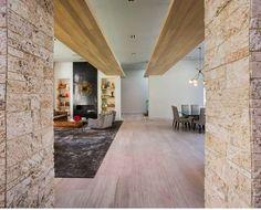 Miami Beach, Hammock, Oversized Mirror, Hardwood Floors, Interior Design, Architecture, House, Furniture, Home Decor
