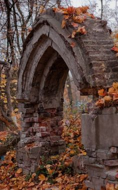 Graveyard Arch.