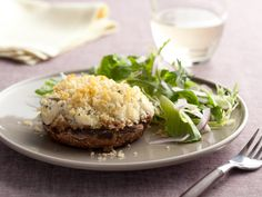 Crab-Stuffed Mushrooms recipe from Paula Deen via Food Network