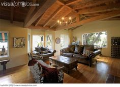 wood ceilings | Cozy Rustic Living Room with Vaulted Wood Ceiling [lop04994] > Stock ...