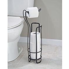 InterDesign 55662EU Axis Halter für Toilettenpapier Plus, Chrom: Amazon.de: Küche & Haushalt