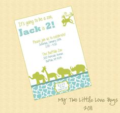 Tall zoo birthday invitation featuring you on etsy 1299 edward tall zoo birthday invitation featuring you on etsy 1299 edward 3rd bday party pinterest zoo birthday zoos and birthdays stopboris Images