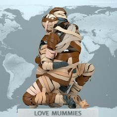 Love Mummies. Adam Martinakis_Digital Sculptures