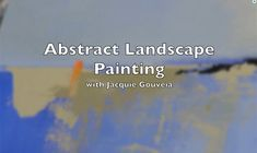 Top Selling Item VIDEO Tutorial Abstract Landscape Painting