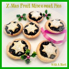 With A Blast:: X-MAS Fruit Mincemeat Pies - traditional South-African