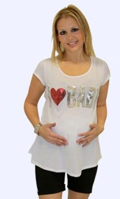 Mommy Paradise Nature Print Maternity T-shirt 3620 - Small Mommy Paradise. $17.05