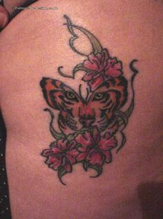 tattoo tiger inside butterfly tiger eye tattoo butterfly and eye ...
