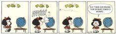 Clube da Mafalda: Tirinhas diárias: Tirinha 001