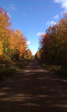 Fall in Tomahawk, WI