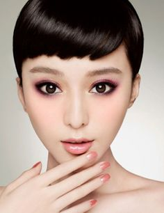 Eyes makeup inspiration - #pink #soft #eyes #makeup