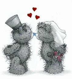 Tatty Teddy ~ wedding day