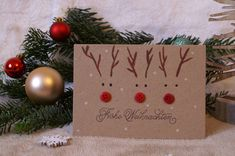 Christmas Art For Kids, Christmas Card Crafts, Christmas Cards To Make, Homemade Christmas Gifts, Christmas Tag, Handmade Christmas, Holiday Crafts, Christmas Decorations, Christmas Wrapping