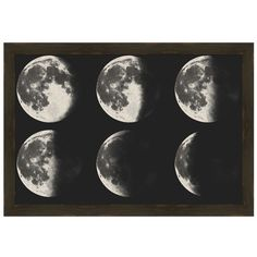 Ptm Images Moon Crescent Wall Art (€285) found on Polyvore featuring home, home decor, wall art, art, backgrounds, pictures, filler, multi, moon wall art and moon home decor