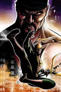 Luke Cage & Iron Fist - Riccardo Fasoli