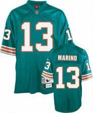 Miami Dolphins Mitchell & Ness 1984 Dan Marino Aqua Replica ...