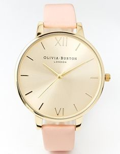 Olivia Burton Big Dial Dusky Pink Watch - fingers crossed on getting this for valentines