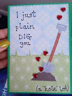 Cute pun card :) – Scrapbooking İdeas For İdeas. My Funny Valentine, Valentines Puns, Valentine Day Cards, Love Cards, Diy Cards, Cute Puns, Pun Card, Valentine's Day Quotes, Pick Up Lines