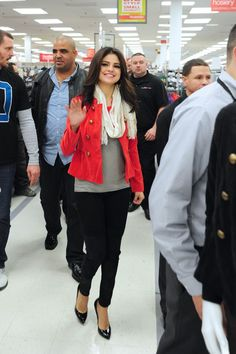 Selena Gomez - Dream Out Loud clothing promotion in NYC