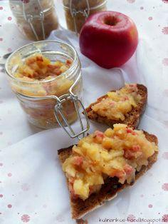Kulinarikus: Kleine Geschenke aus der Küche: Apfel-Speck-Aufstrich