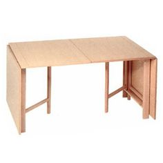 Minimalist Look Wooden Table Frame Folding Dining