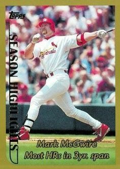 73 Best Mark Mcgwire 39 Mlb Images In 2015 Mlb Baseball Cards