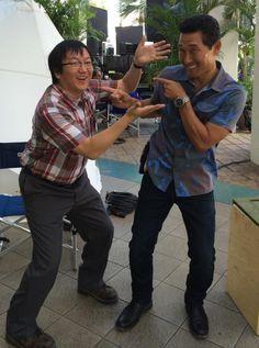 Hawaii Five-0 Season 5 Behind The Scenes- Masi Oka - Daniel Dael Kim #H50
