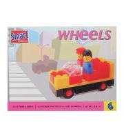 Wheels on the bus go round and round..... Turn your child's favourite nursery rhyme into a fun activity with these Smart blocks from Peacock.  http://slambaby.com/blocks-stacks-and-shapes/peacock-smart-blocks-wheels.html