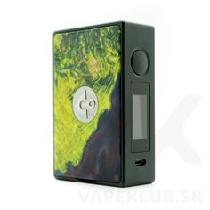 Ultroner X Asmodus EOS 180W mod.  V prípade záujmu vám pošleme fotky konkrétnych kusov na sklade, keďže každý kus je unikát. Eos, Vape, Smoke, Electronic Cigarettes