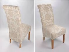 cream dining chairs - 1 Cream Dining Chairs, White Desks, Desk Chair, Accent Chairs, Furniture, Home Decor, Upholstered Chairs, Decoration Home