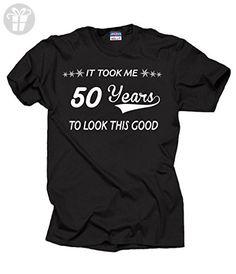 50 years anniversary gift t-shirt funny tee 5XL Black - Funny shirts (*Amazon Partner-Link)
