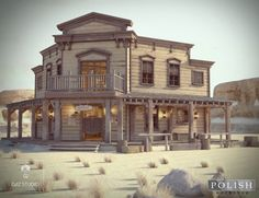 Western Saloon Bundle | 3D buildings for Daz Studio and Poser