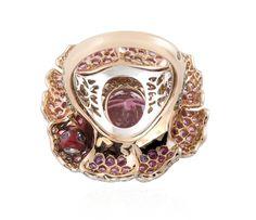 Peony Pink Tourmaline ring