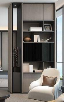 The Home Decor Guru – Interior Design For Bedrooms Shelving Design, Shelf Design, Cabinet Design, Home Office Design, Home Interior Design, House Design, Garage Design, Design Interiors, Deco Design