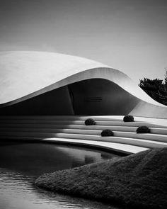 The Porsche Pavilion at the Autostadt in Wolfsburg by Henn Architekten