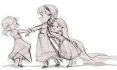 Anna,Elsa and Rapunzel
