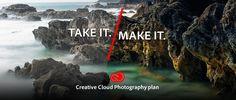 Photoshop & Lightroom together $9.99/month