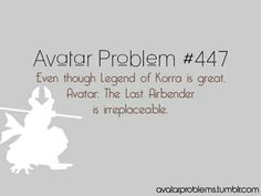 Idk if i'd call the Legend of Korra Great.. it definitely doesn't live up to Avatar: The Last Airbender