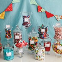 A candy bar....good idea for an upcoming 13th birthday party!
