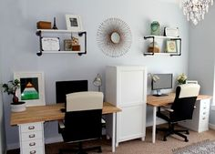 family home office. Create A Family Office Space With These Tips. | Home Ideas Pinterest Office, Spaces And