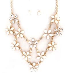 Sybella Necklace in Ivory on Emma Stine Limited