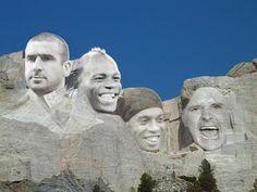 FootVolt Mount Rushmore E. Cantona,M. Balotelli,Ronaldinho,P Gascoigne