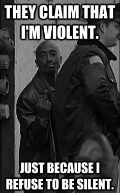 2pac... that's what the middle finger is for! F*** em....