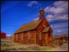 Bodie Church, California