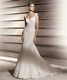 Sheath Column Scoop Court Train Champagne Wedding Dress H4pnlb3866
