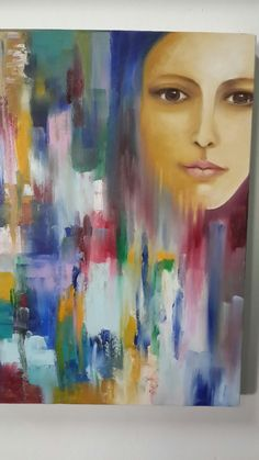 """Oil on Canvas """"Celya Jacobi"""" """"Searching for my true colors"""""""